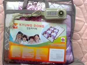 Chăn điện kyung Đông nhung