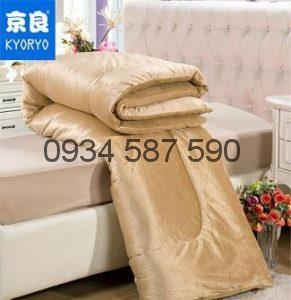 Chăn lông cừu kyoryo Nâu vàng